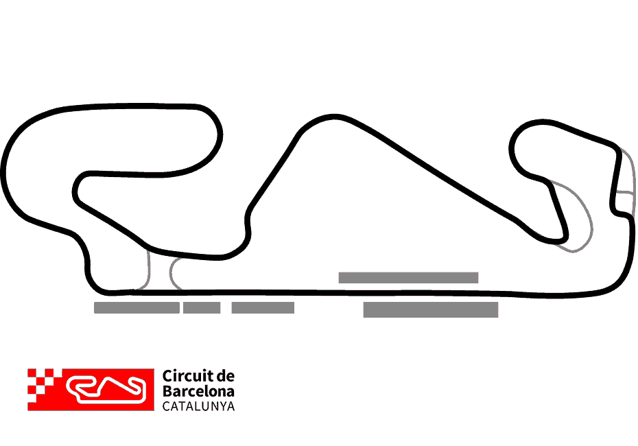 Circuit de Barcelona Track Map