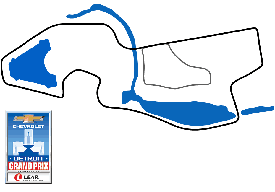 Detroit Track Map