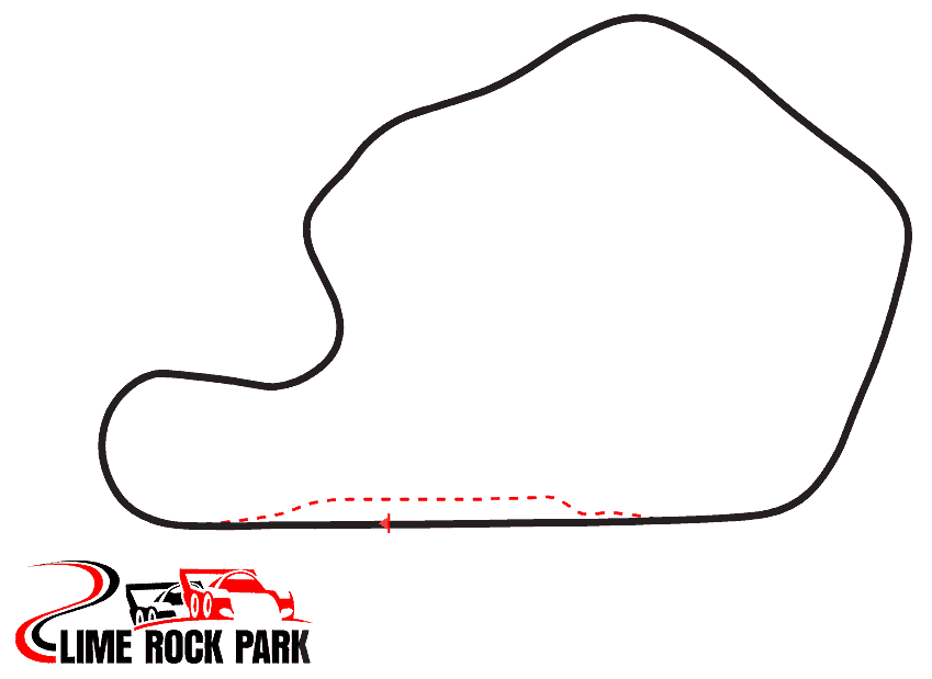 Lime Rock Track Map