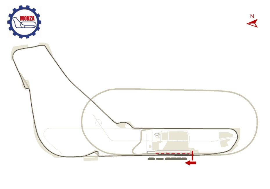 Monza GP Track Map