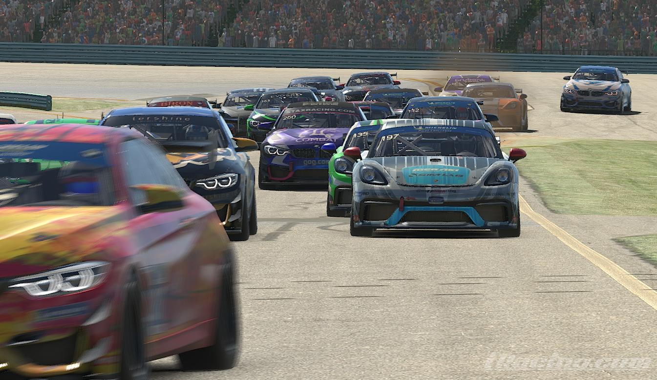 Apex Racing Academy GT4 VRS Super Series   Round 1 at Watkins Glen (Broadcast)
