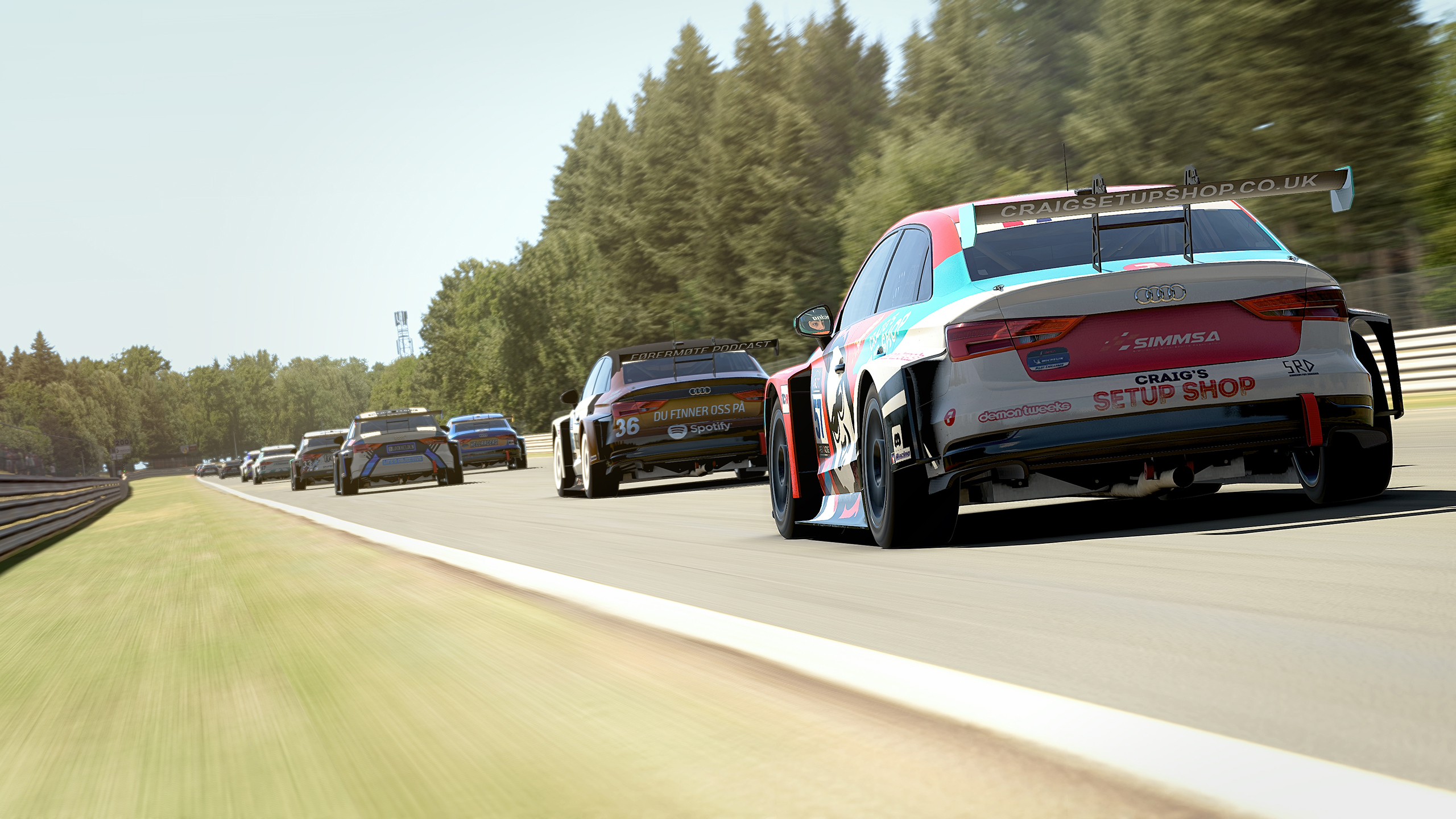 Apex Racing League Touring Car Championship | Round 1 at Spa Francorchamps (Broadcast)