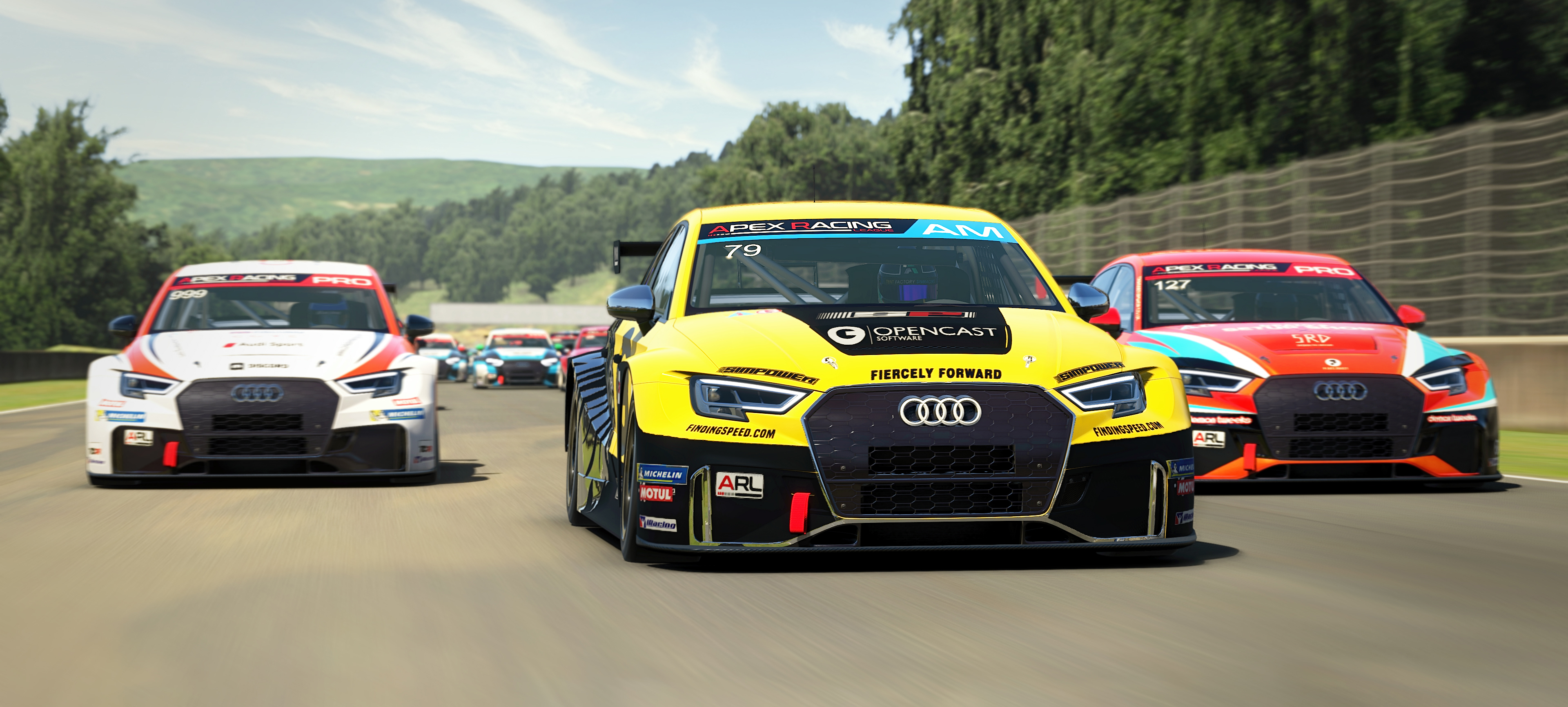 Apex Racing League Touring Car Championship | Round 3 at Barber Motorsports Park (Broadcast)