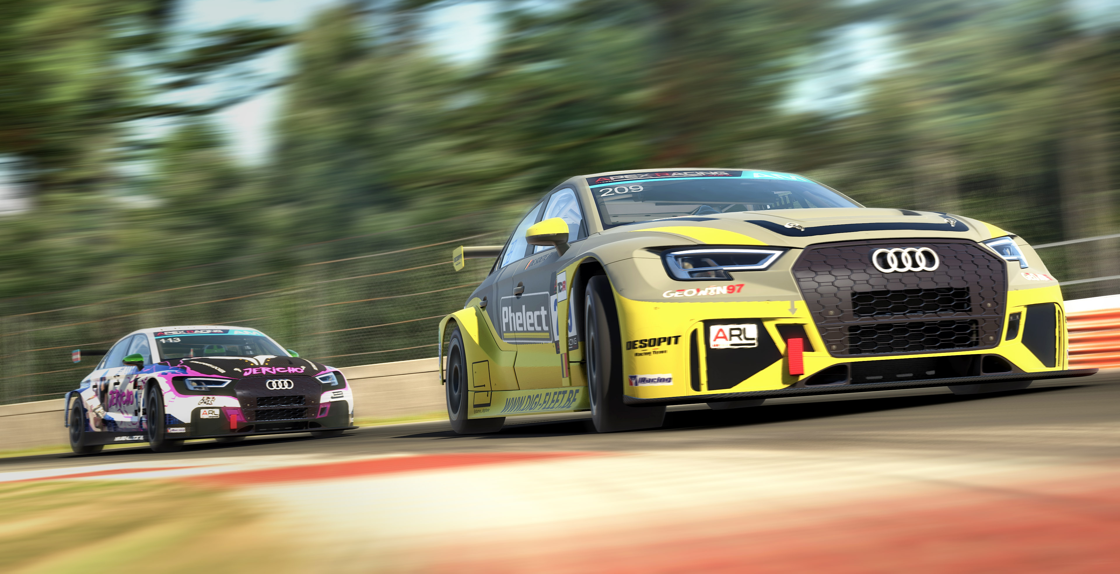 Apex Racing League Touring Car Championship | Round 5 at Zolder