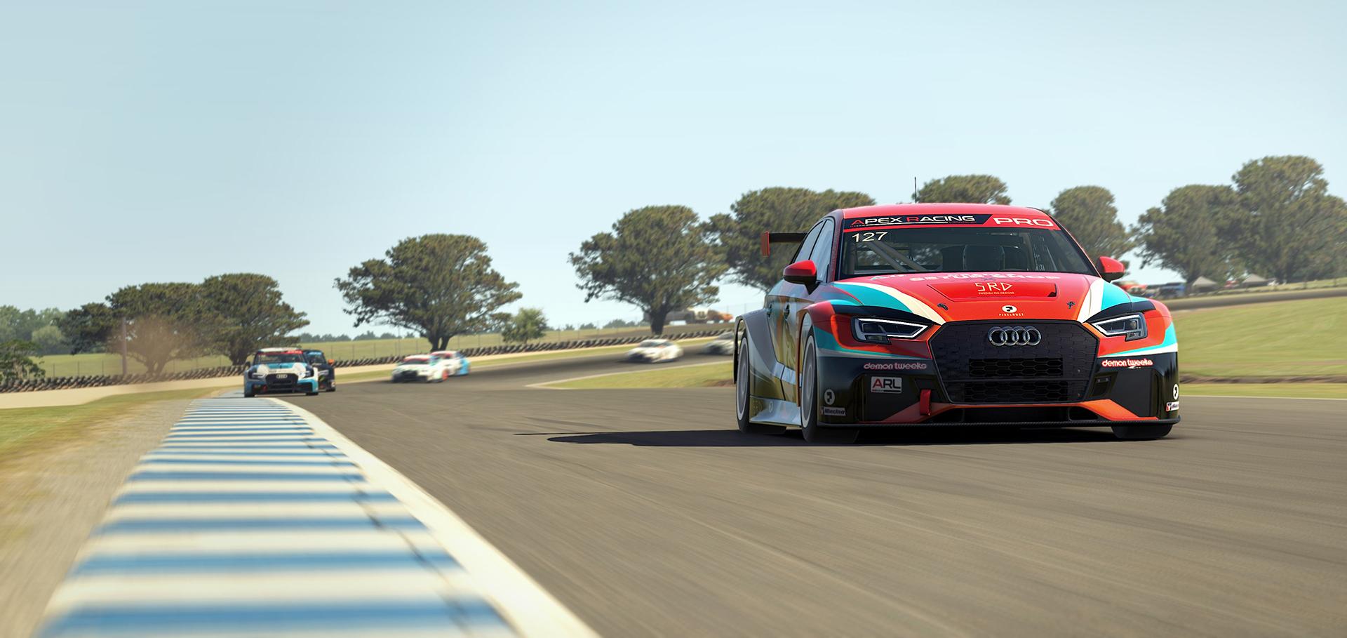 Apex Racing League Touring Car Championship   Round 4 at Phillip Island