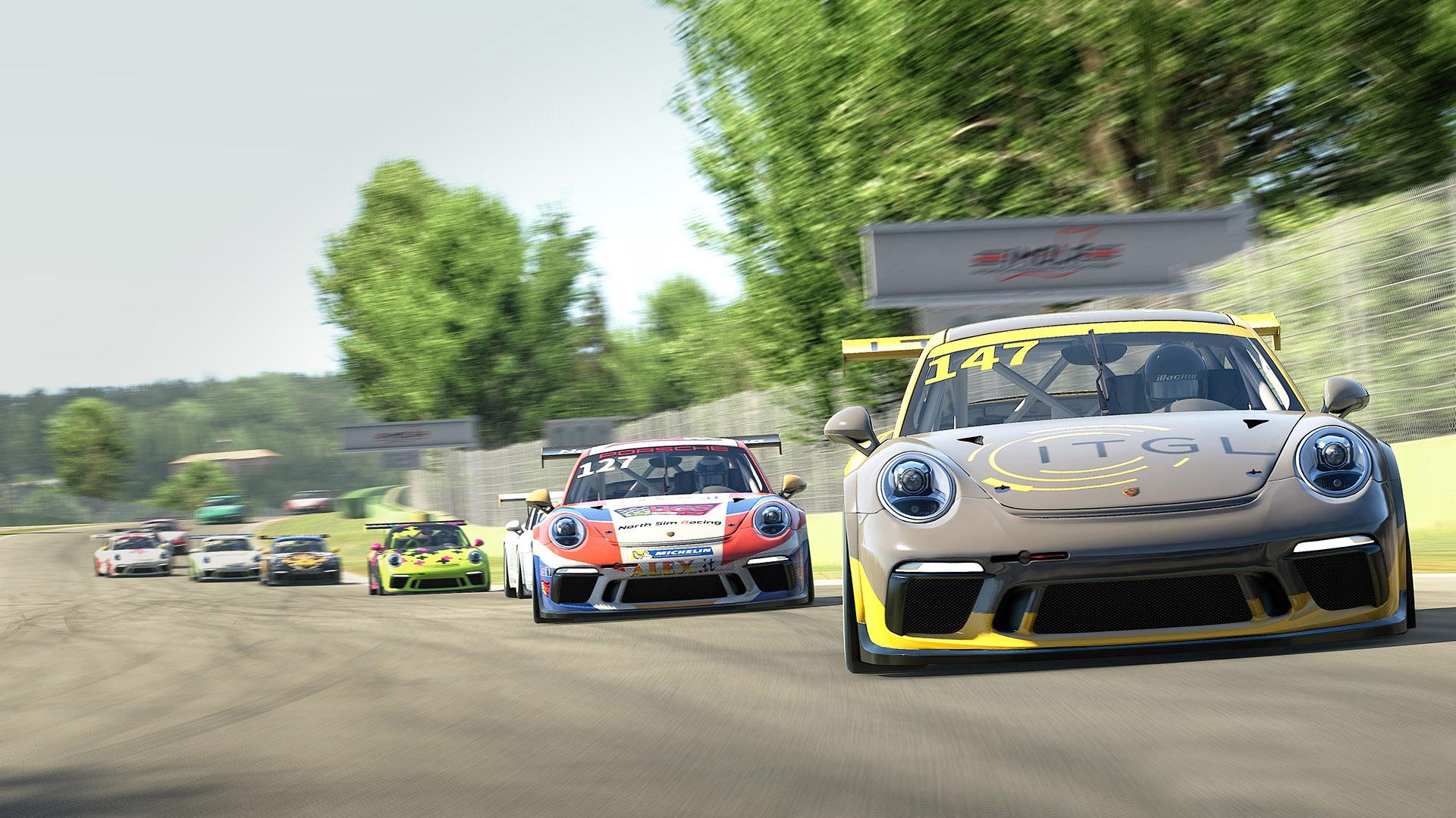 Apex Racing Academy Porsche Cup Championship  Season 1   Round 2 Imola