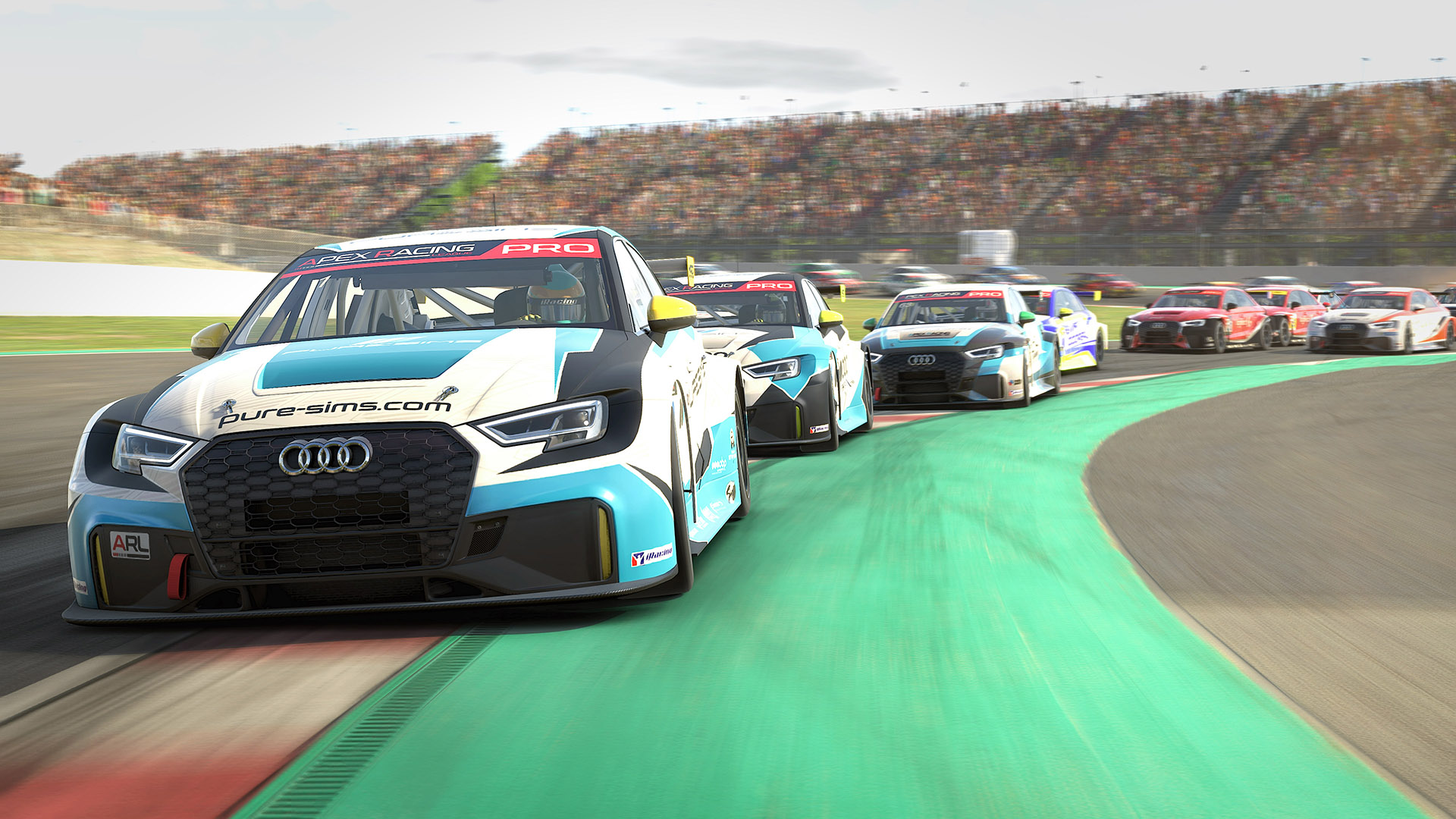 Apex Racing League Touring Car Championship   Round 9 at Barcelona