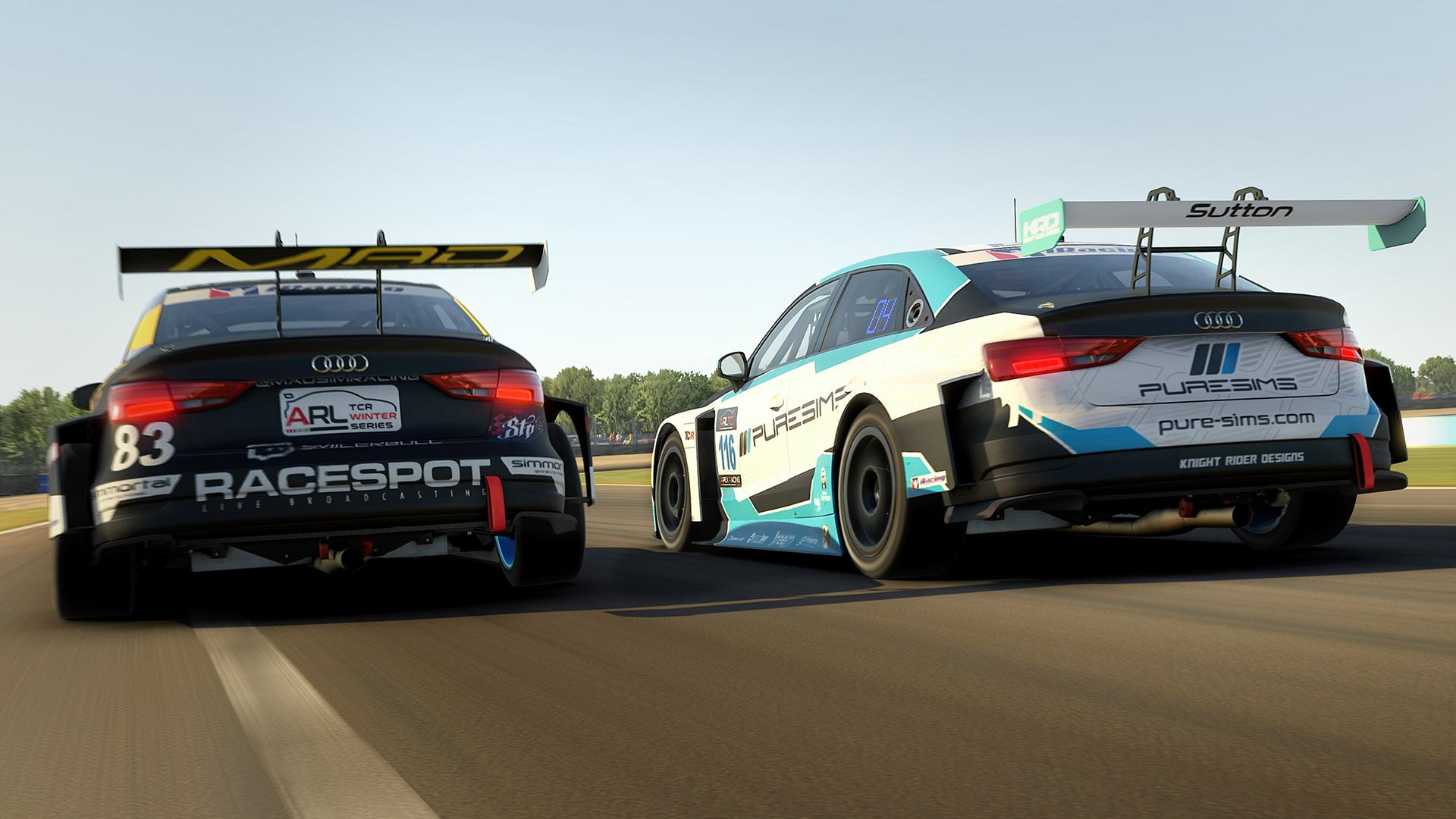 Apex Racing League Touring Car Championship   Round 12 at Donington