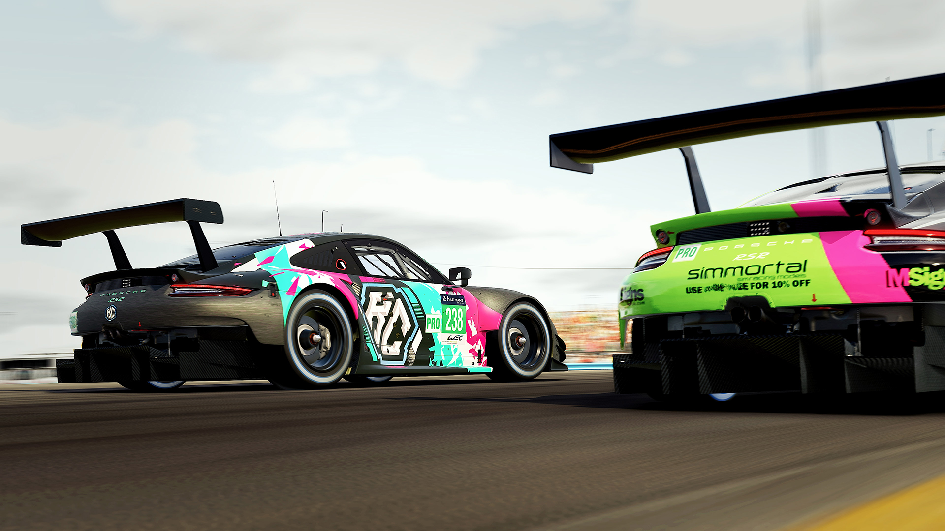 Apex Racing League GT Team Championship | Round 1 – Daytona