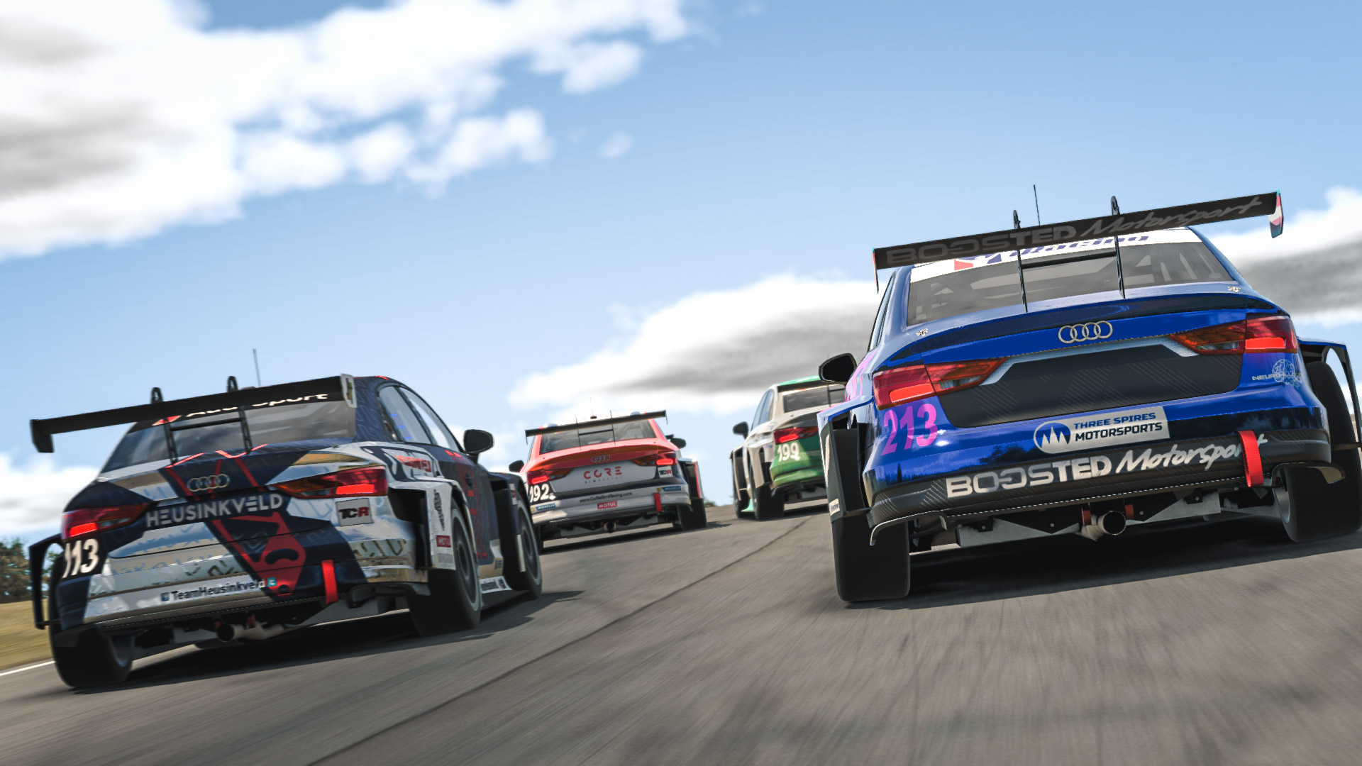 Apex Racing League Touring Car Championship   Round 5 at V.I.R