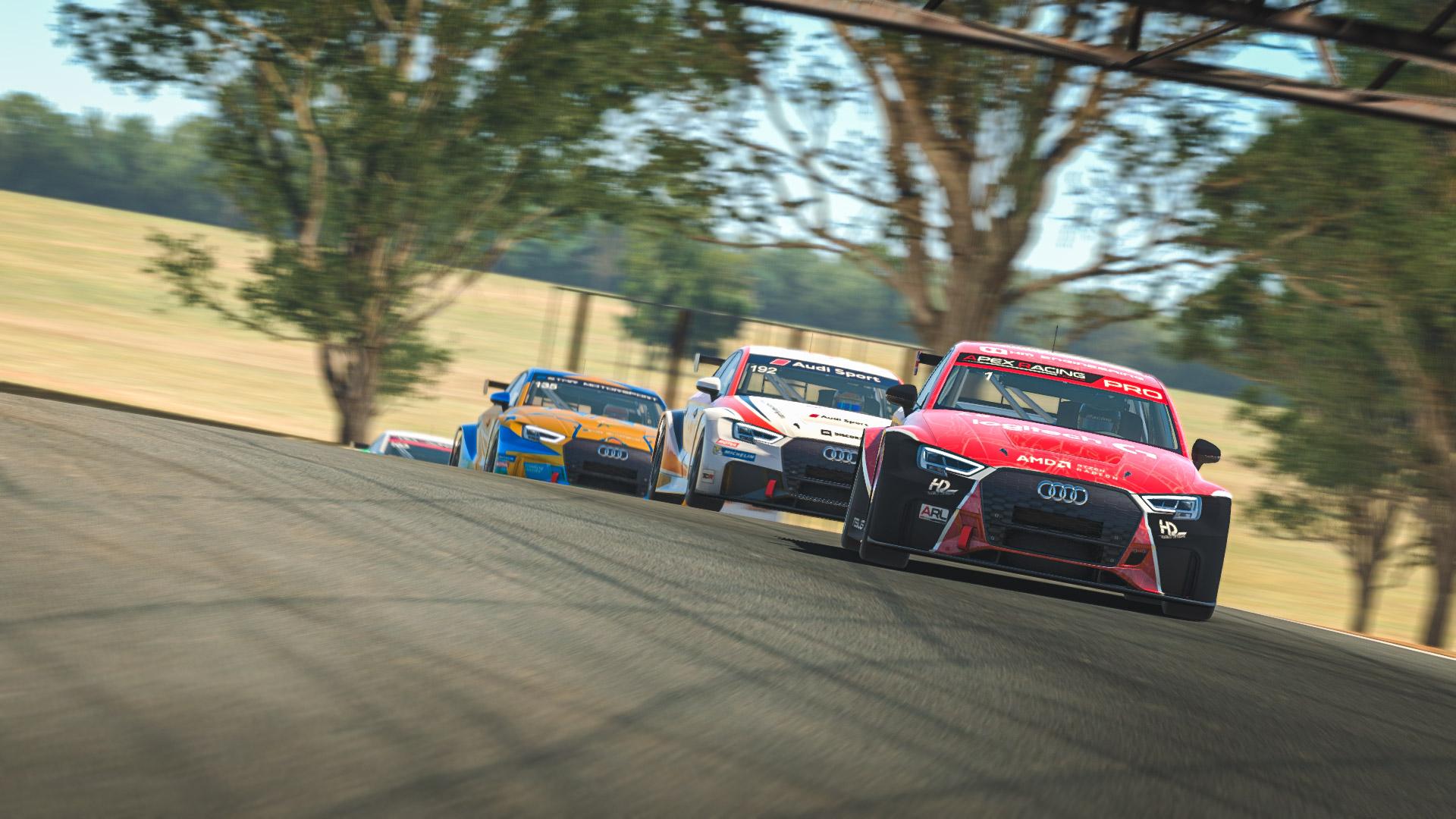 Apex Racing League Touring Car Championship   Round 6 at Oran Park