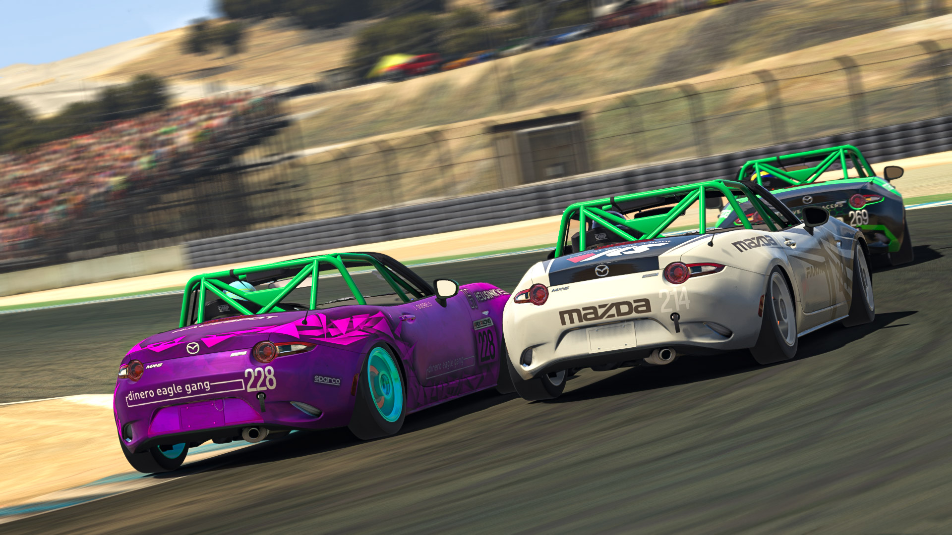 Mazda Cup Round 2