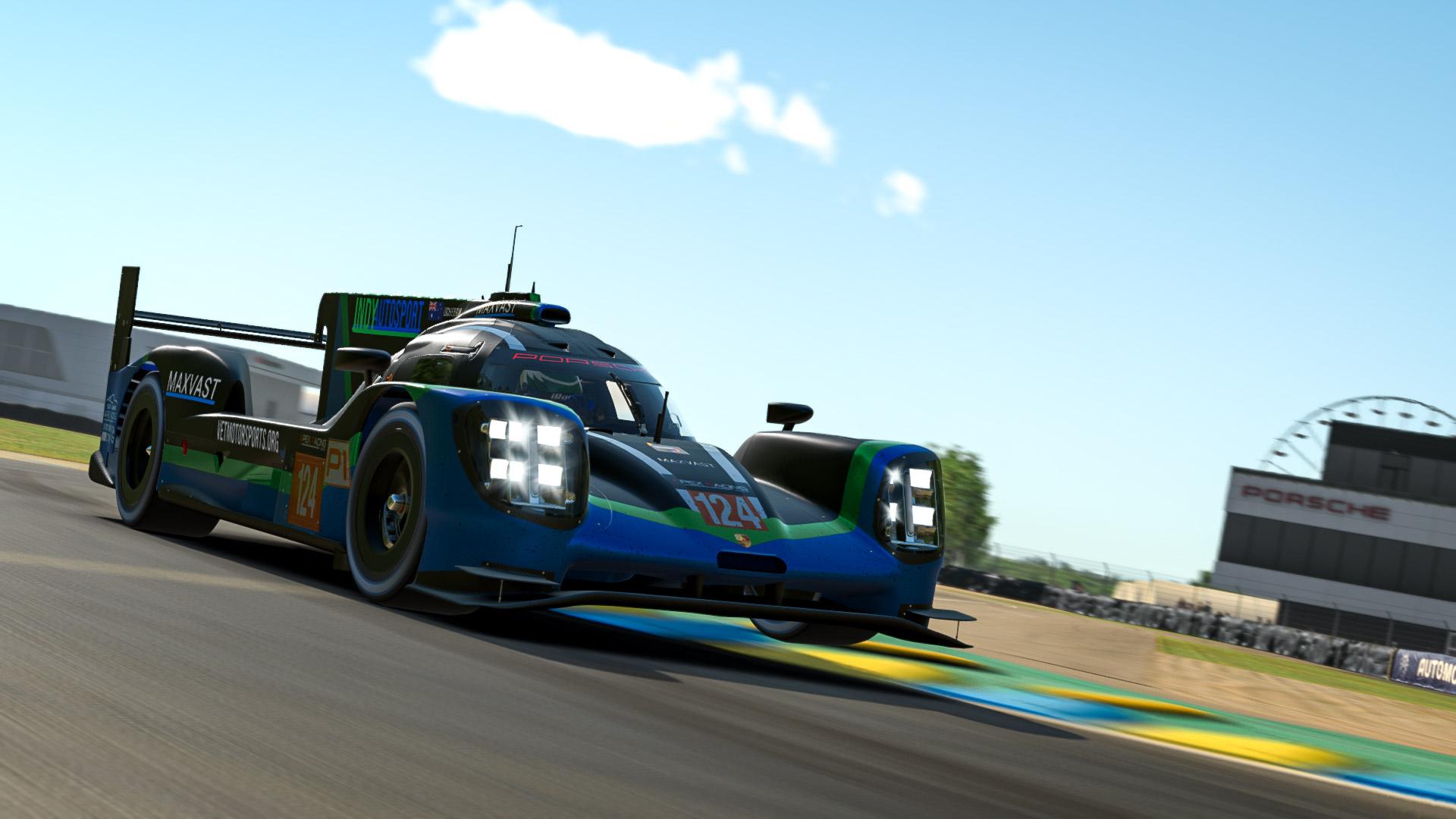 Apex Racing League Prototype Championship  Season 1 | Round 4 Le Mans