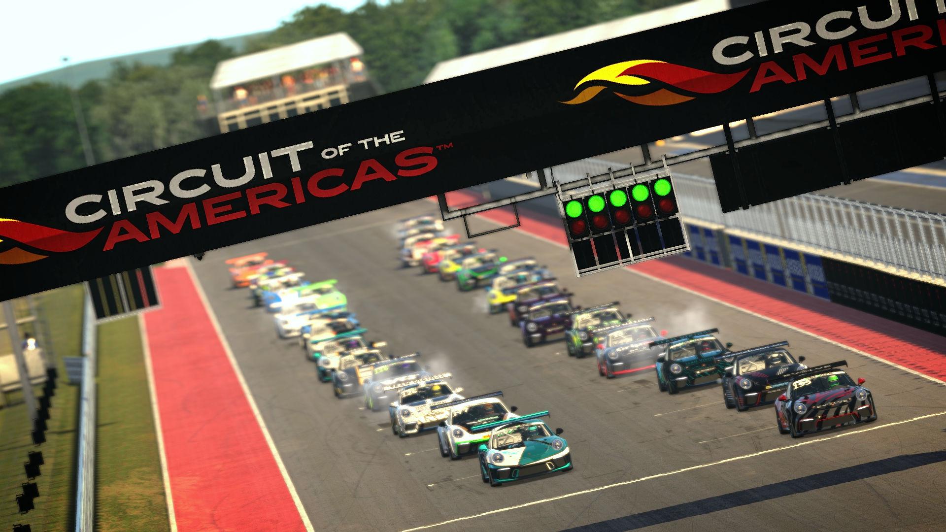 Apex Racing Academy Porsche Cup Championship Season 2 | Round 7 Circuit of the Americas