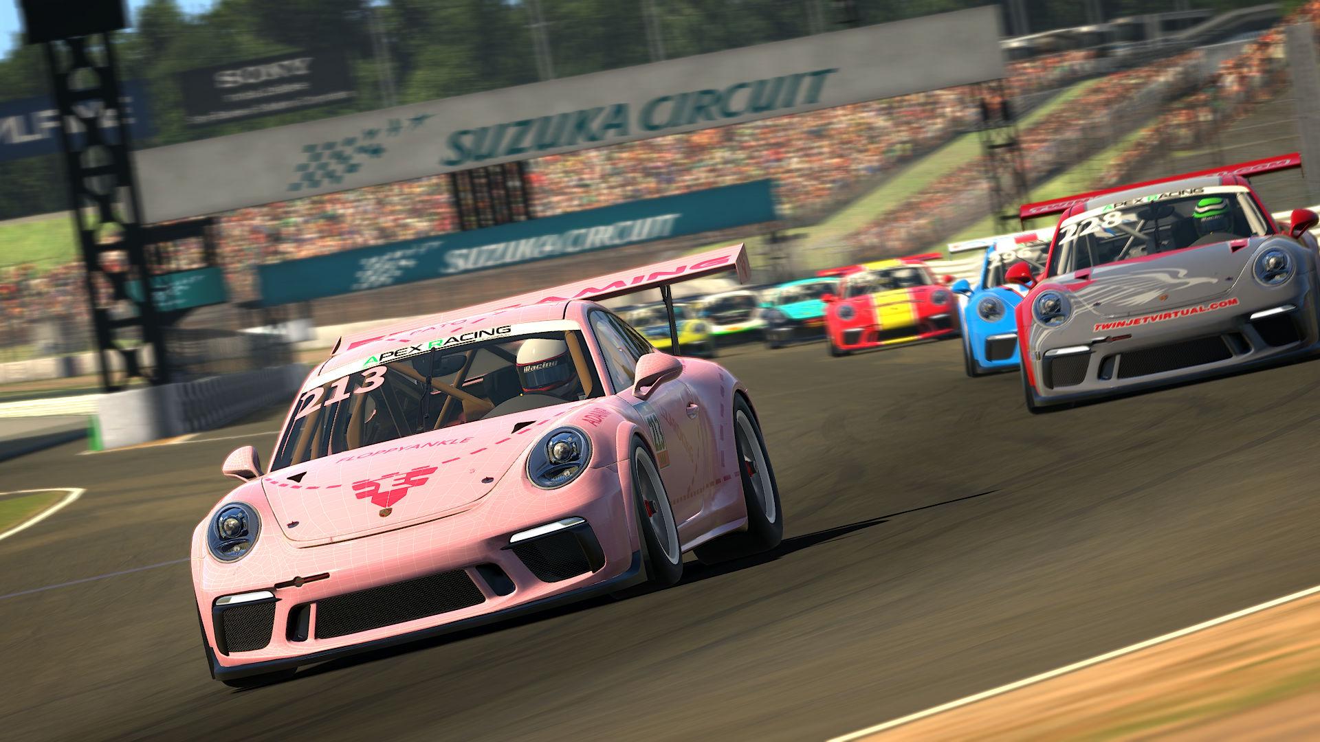 Apex Racing Academy Porsche Cup Championship Season 2 | Round 5 Suzuka