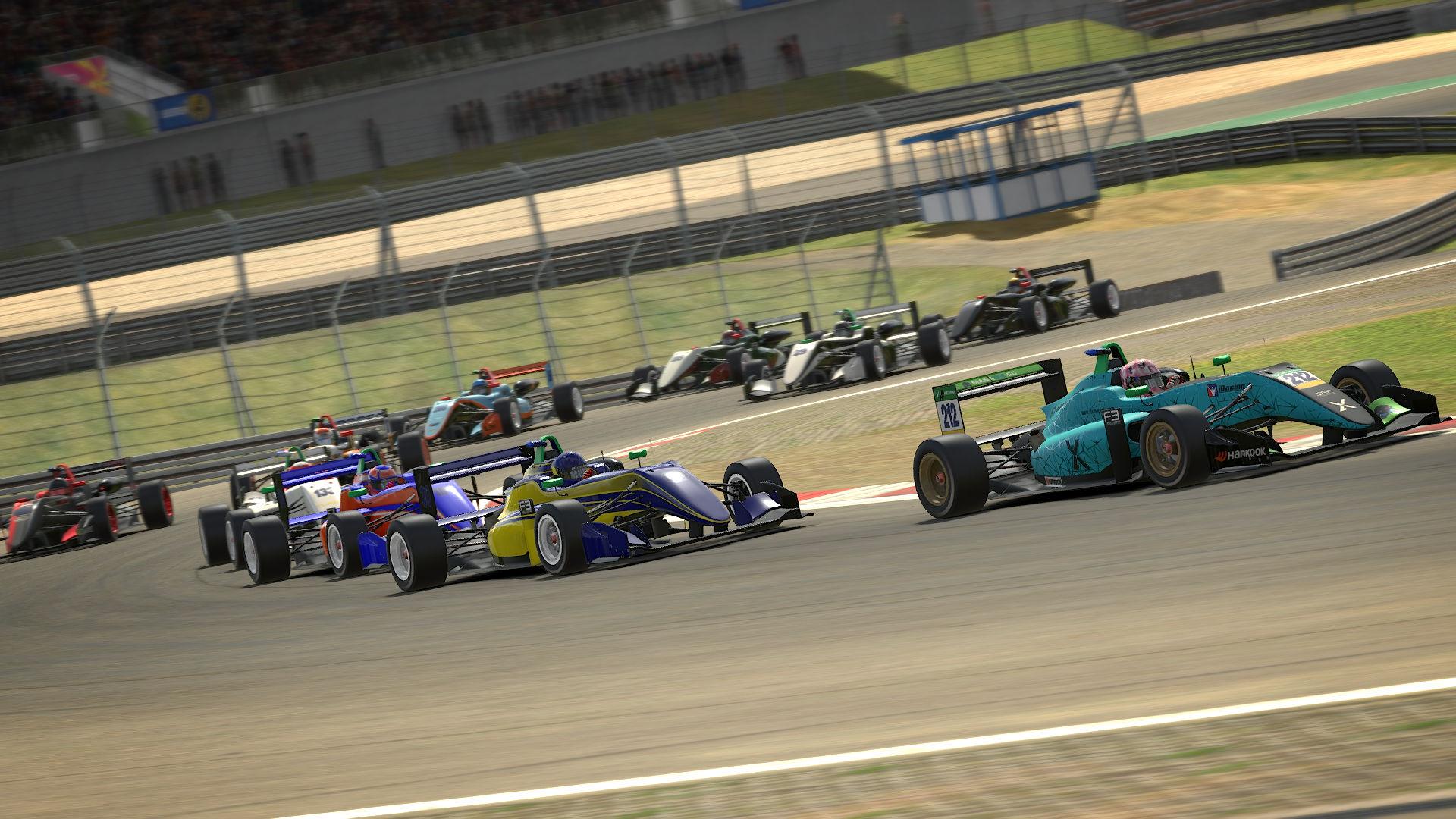 Apex Racing Academy F3 VRS Super Series   Round 1 Nurburgring