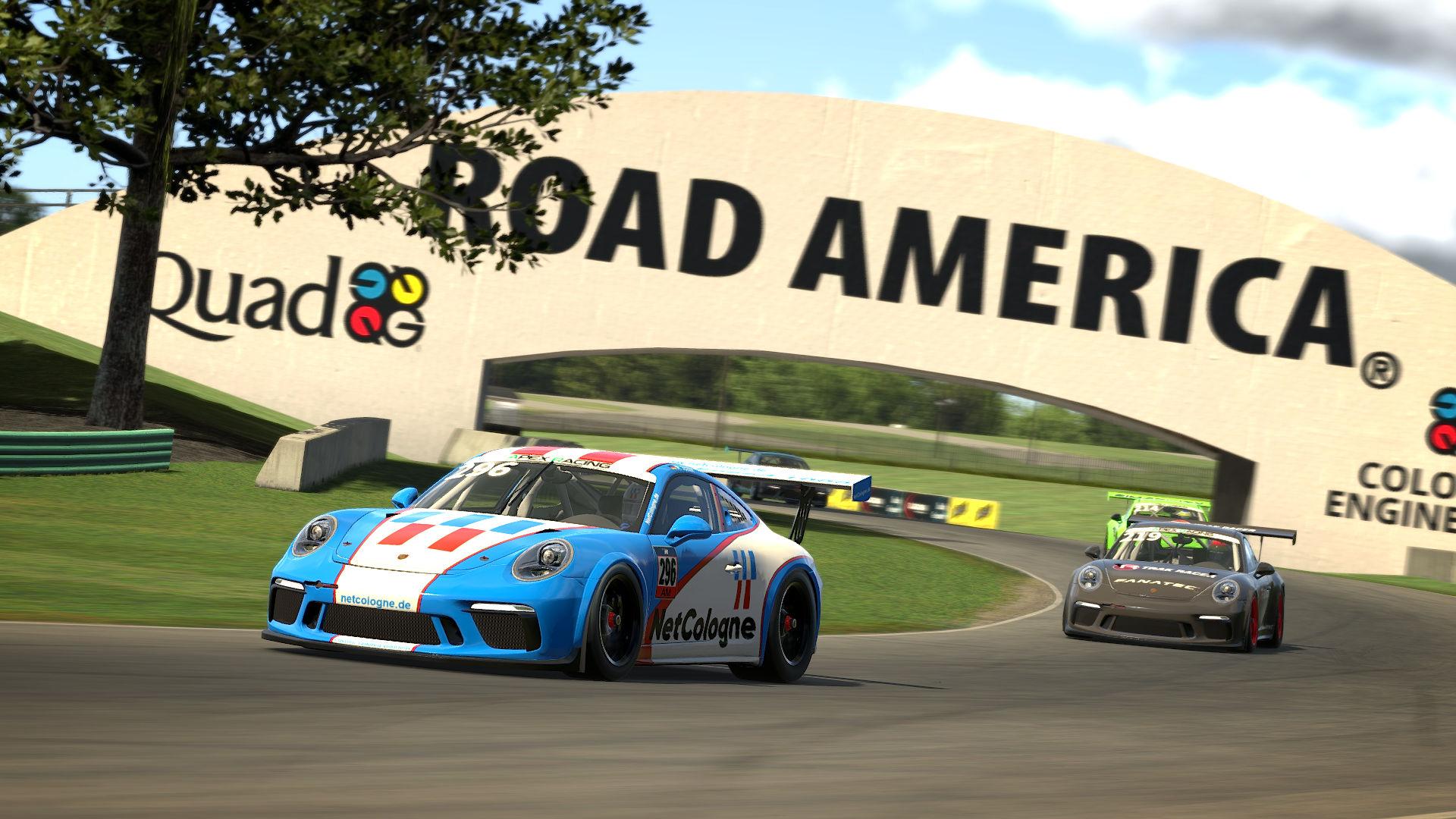 Apex Racing Academy Porsche Cup Championship Season 2 | Round 8 Road America
