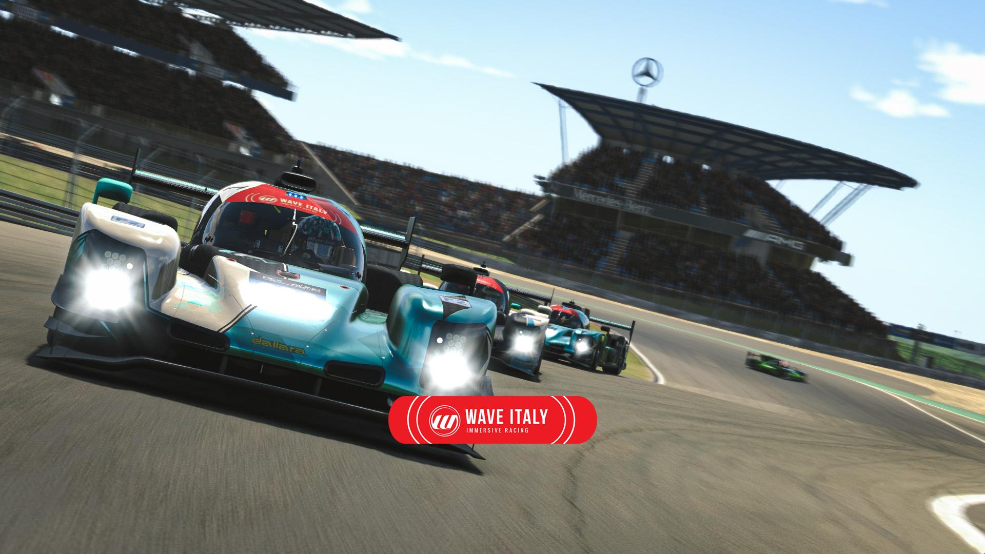 Wave Italy Apex Racing League Prototype Championship Season 2 | Round One – Nurburgring