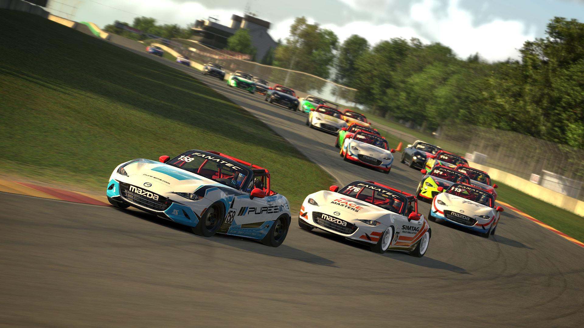 Apex Racing League Mazda Cup | Round 2 Road America