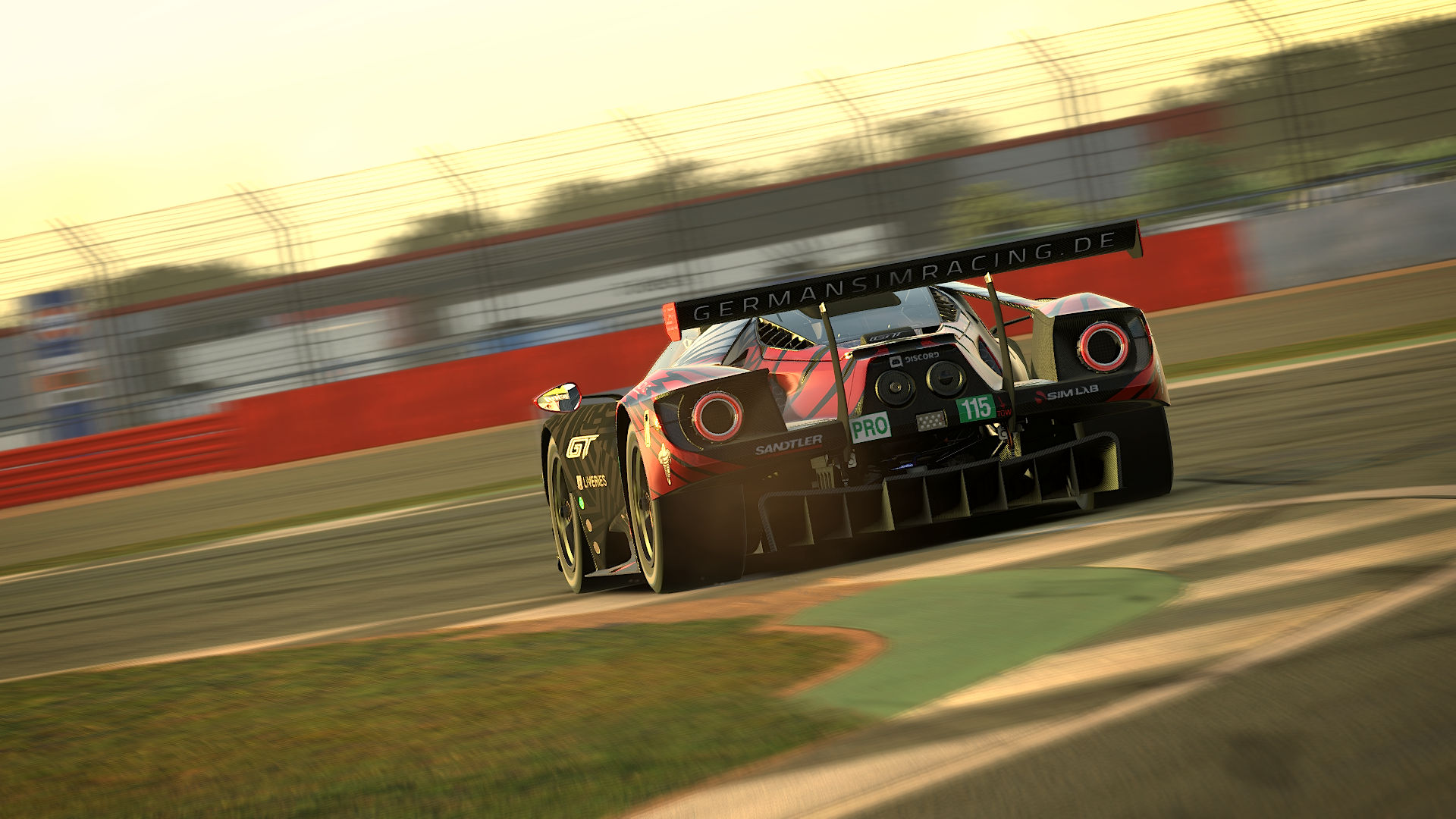 iRacing   Wave Italy ARL GT Championship   Round 5 at Silverstone