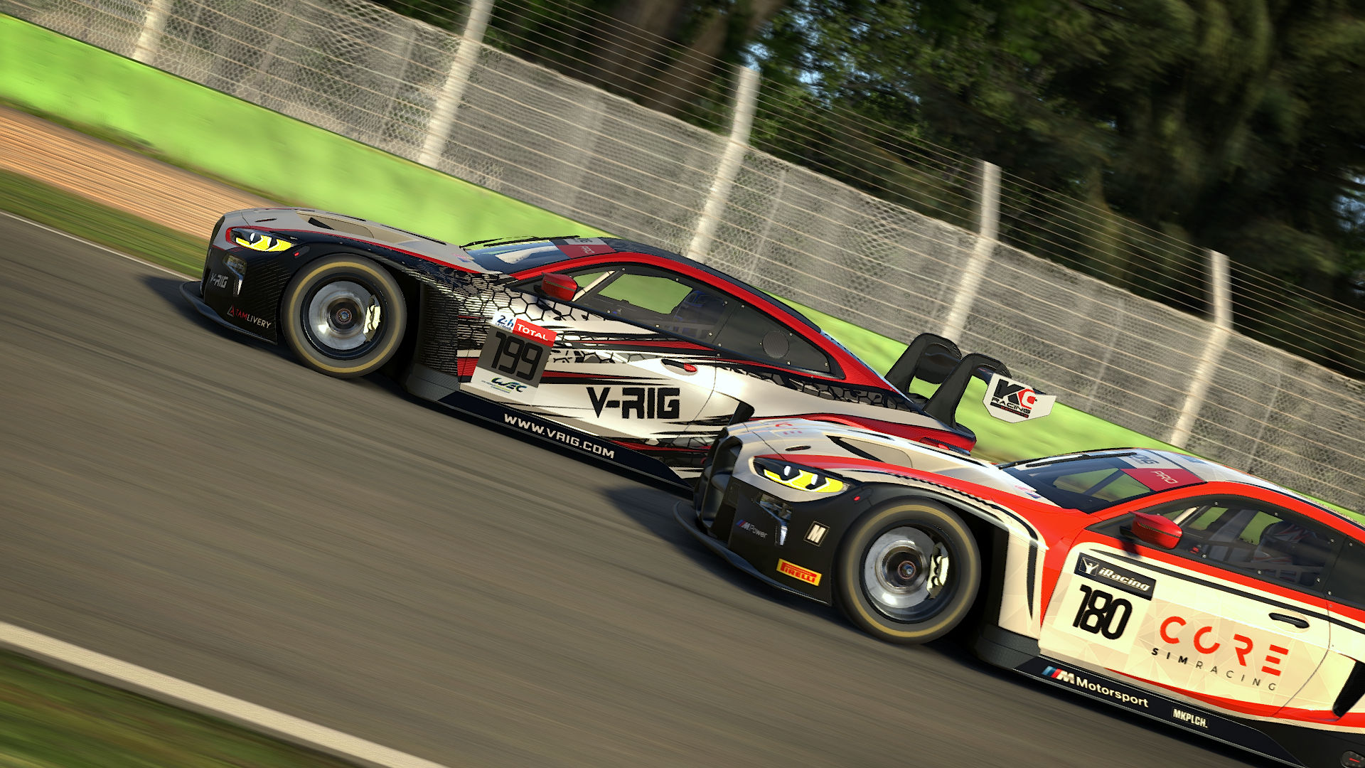 Apex Racing League GT Trophy   Round 7 at Imola