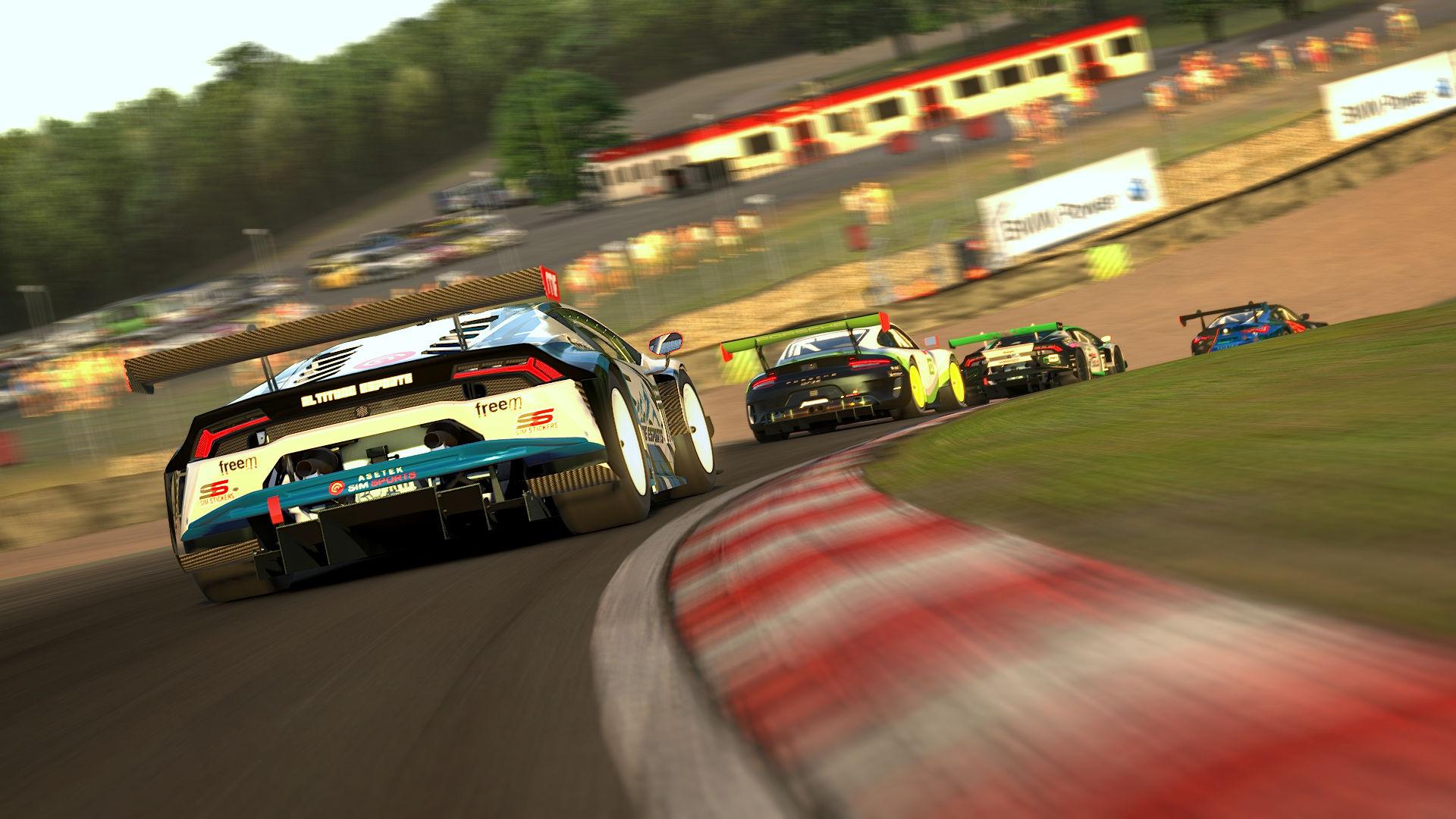 Apex Racing League GT Trophy   Round 6 – Brands Hatch