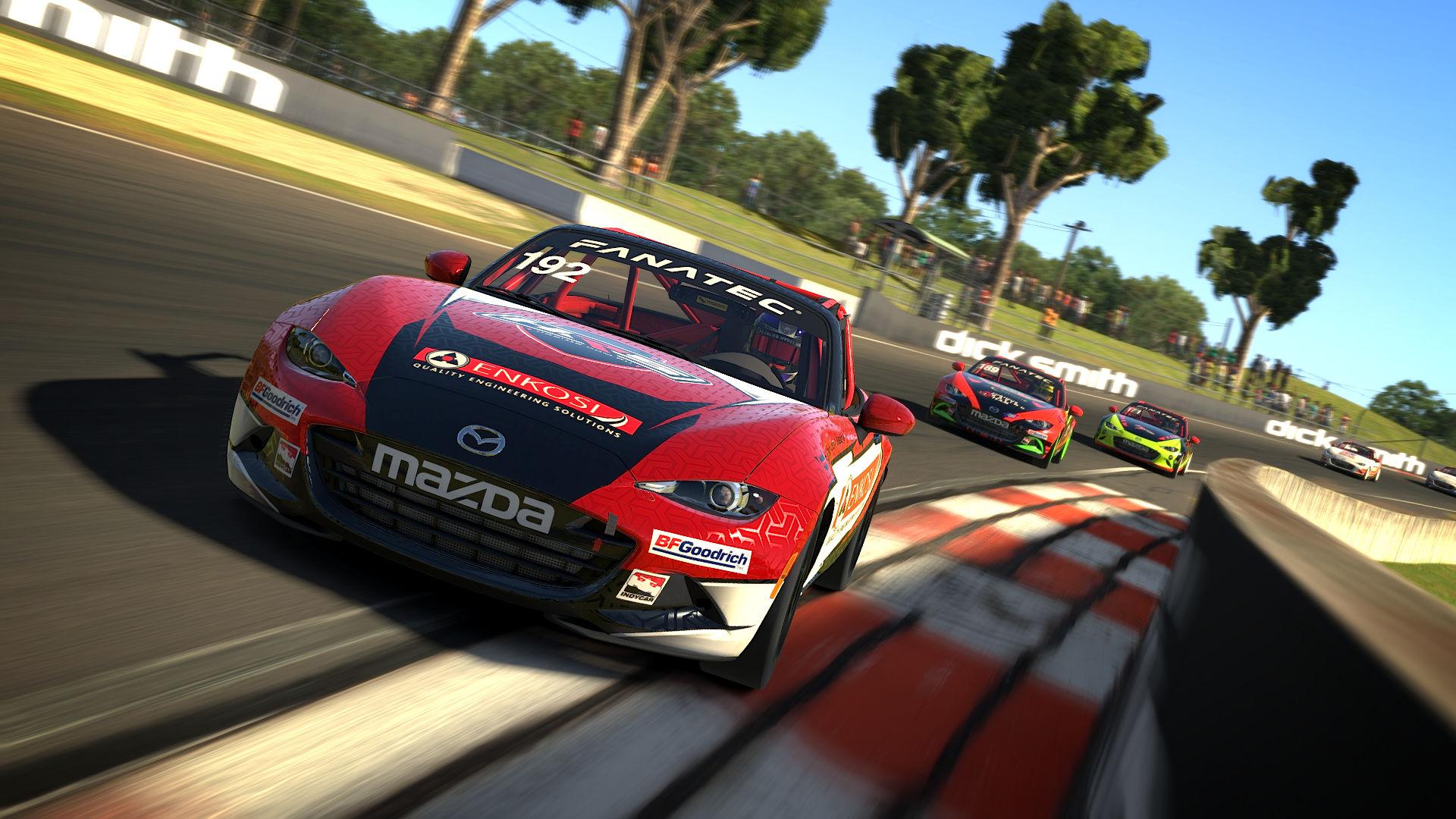 iRacing   Apex Racing League Mazda Cup   Round 6 at Bathurst