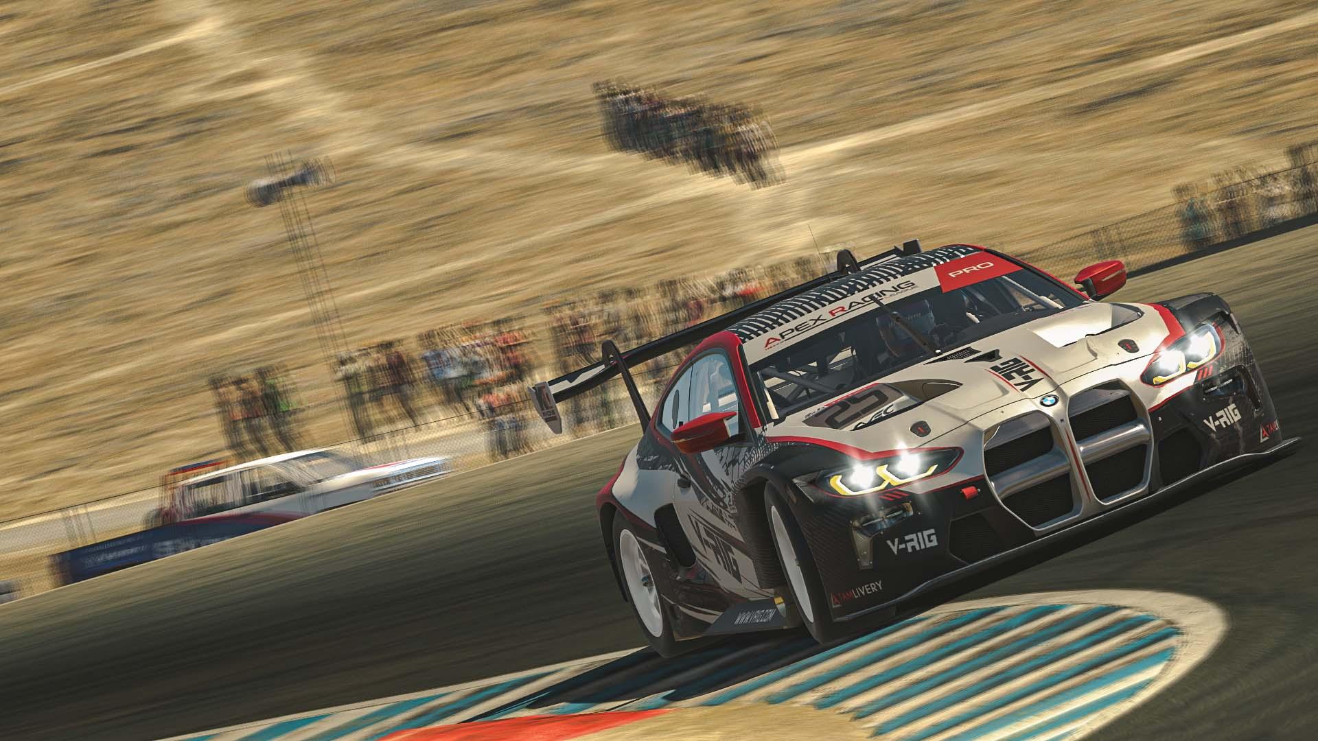 iRacing GT3 Laguna Seca