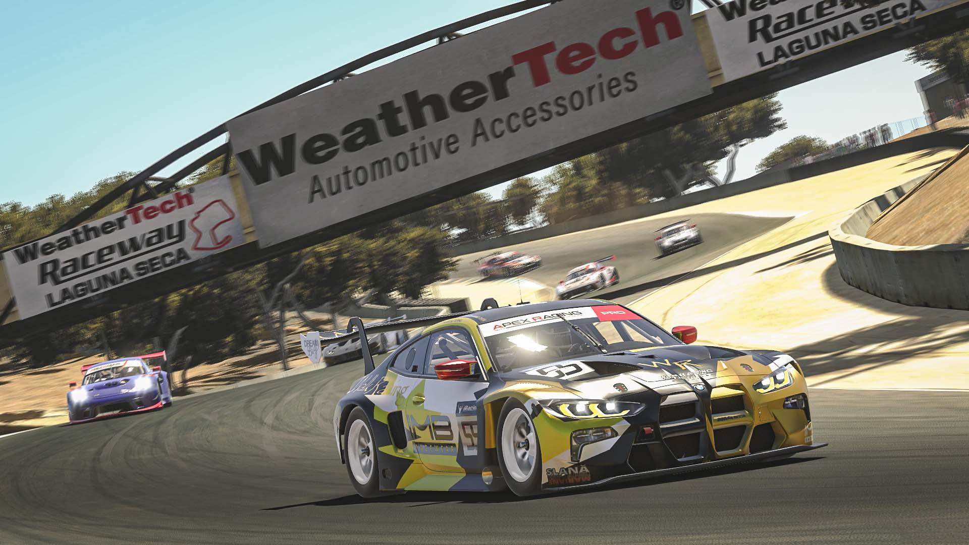 iRacing | ARL GT3 Pro Trophy | Round 4 at Laguna Seca