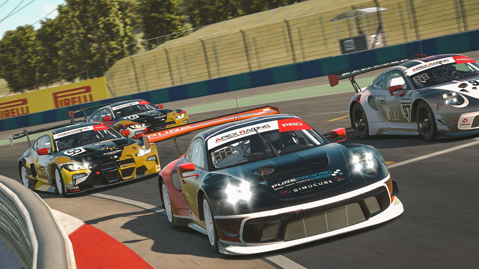 iRacing GT3 Hungaroring
