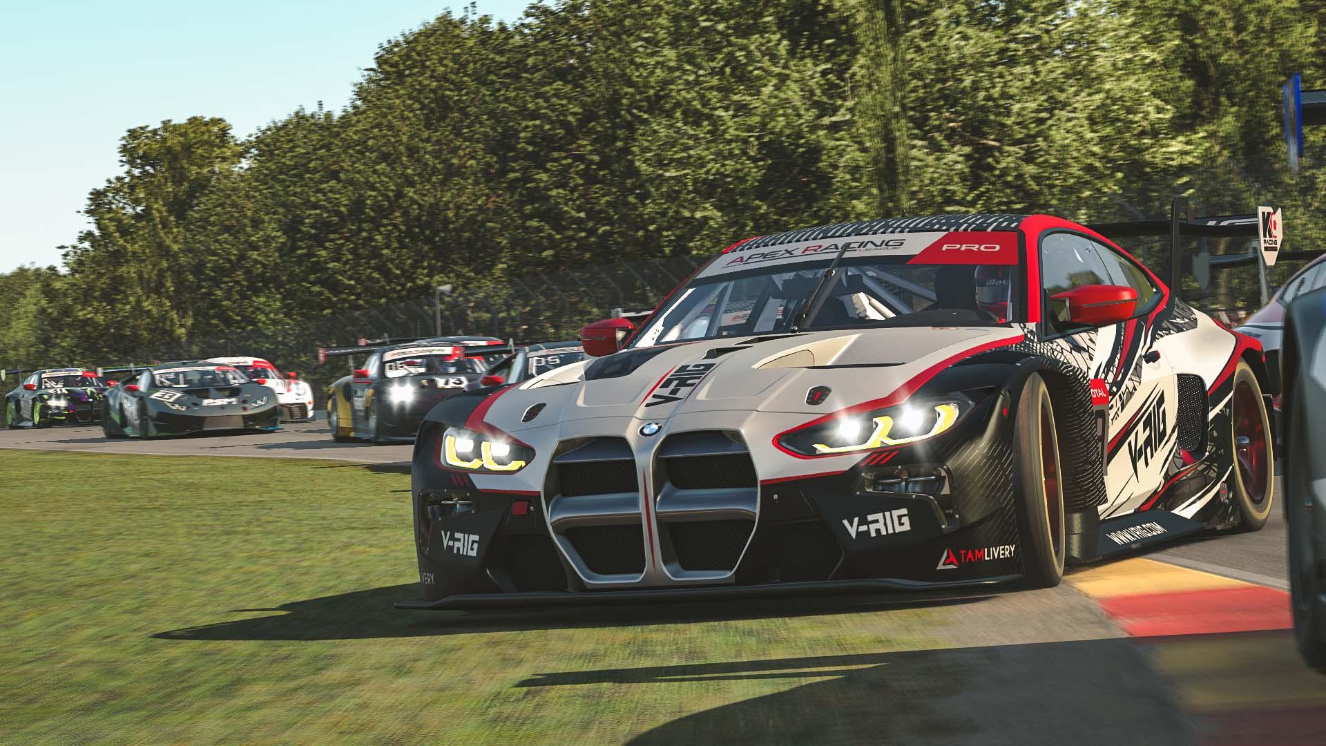 iRacing GT3 Road America